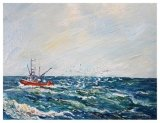 Out of Provincetown (oils) SOLD