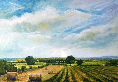 View from Prospect Hill (oils) SOLD