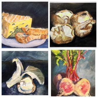 Series of 1 hour oil studies II