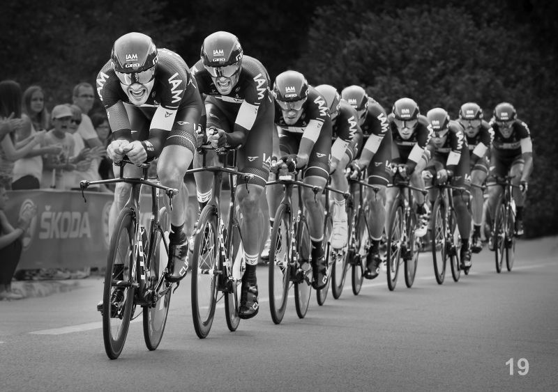 02 Team Race, Tour de France by Stephen Jones