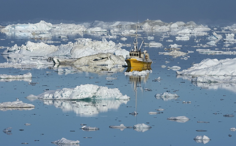 05 Icefjord Fishing Greenland by Jane Lee
