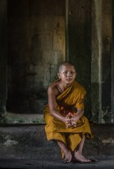 05 Young Monk by Jane Tearle LRPS