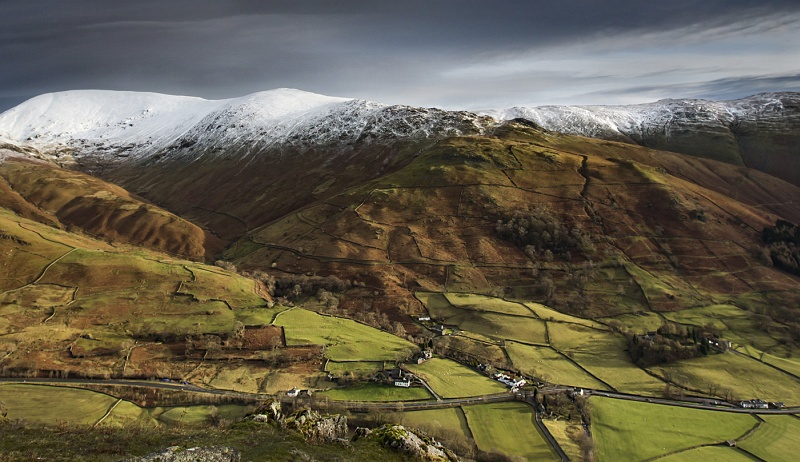 09 View from Helm Crag Grasmere by Richard Anders