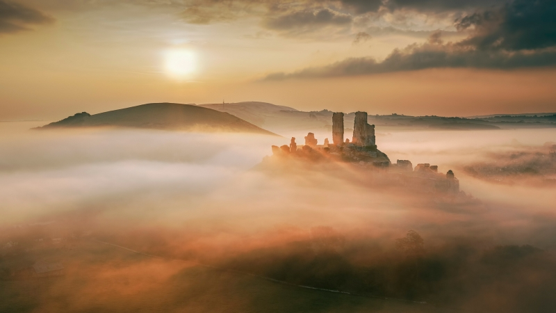 10 Magical Misty Morning by Tony Gill