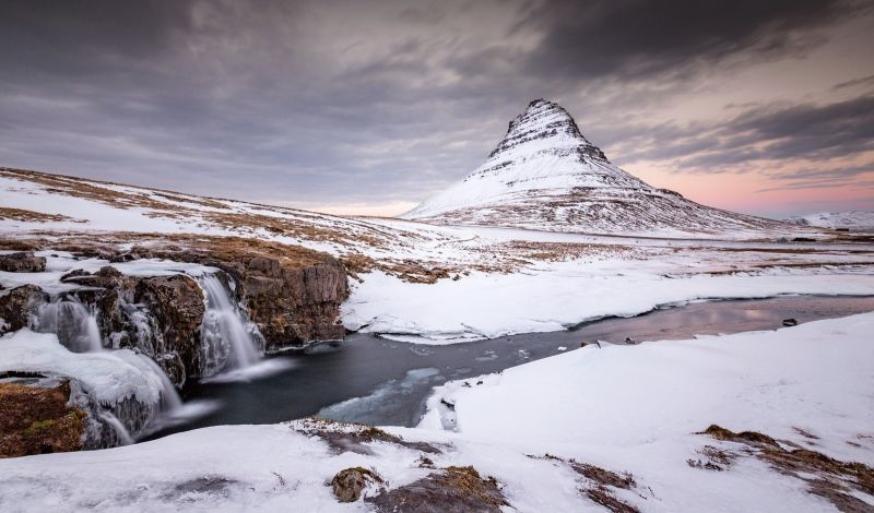 14 Kirkjufell Waterfalls by Jane Lee