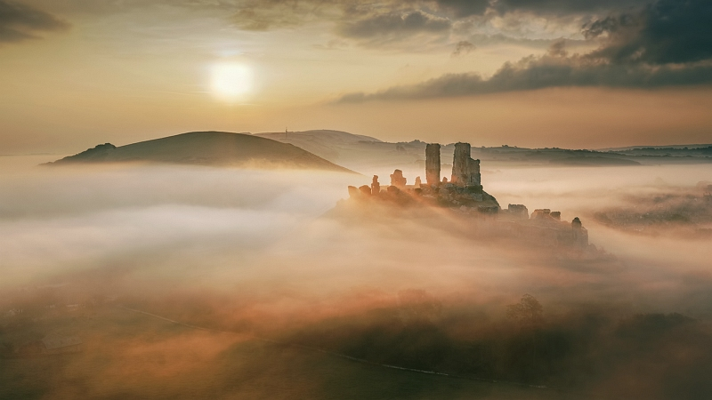 14 Magical Misty Morning by Tony Gill