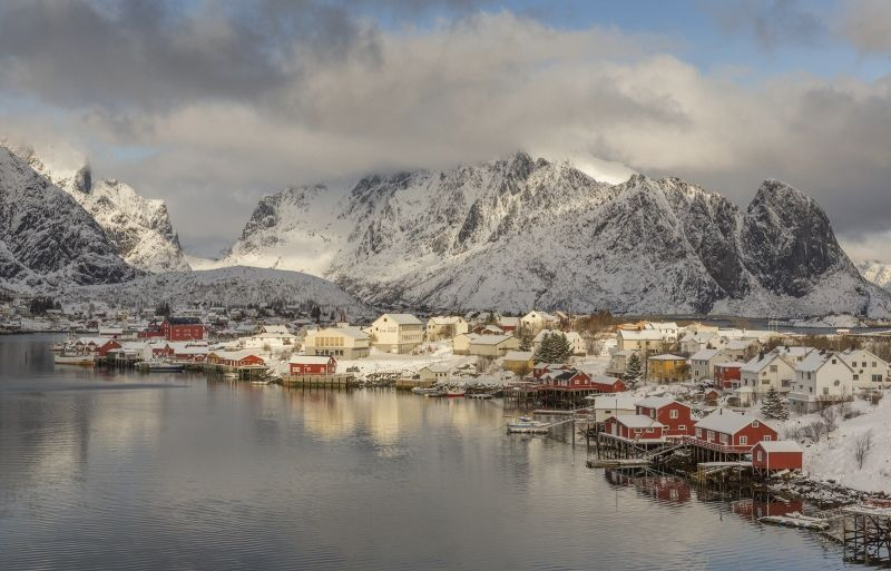 15 Reine Norway by Stephen Lee