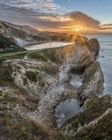 17 Lulworth Cove by Martin Davenport