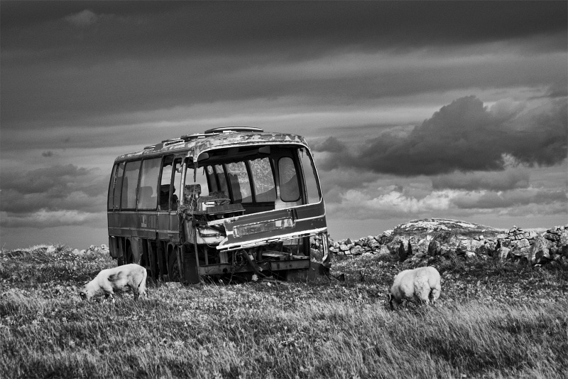 2 Abandoned Coach by Graham Lawrence