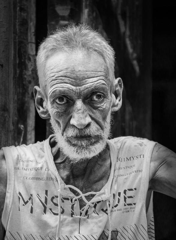 2 Cuban Man by Paul Clarke