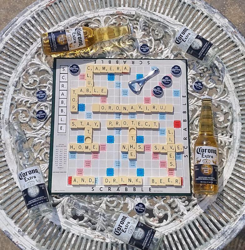 41 Corona Scrabble by Steve Broadhurst