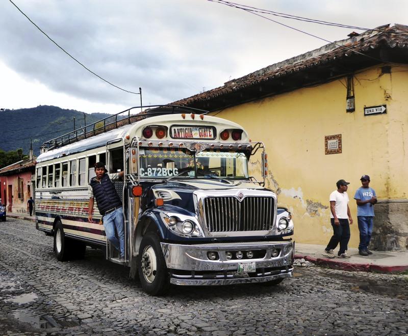 All Aboard for Guatemala City by Carol Tritton