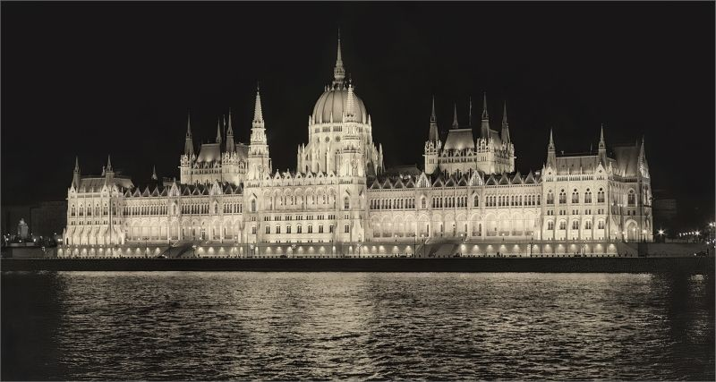 Budapest Parliament Building by Tim Downton Highly Commended Section A
