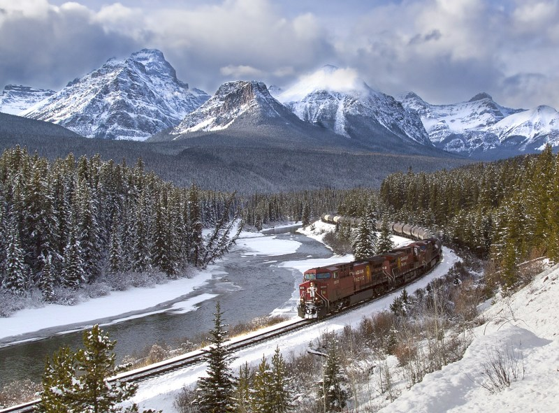 Canadian Rockies by Jane Lee