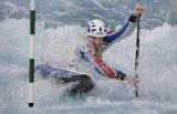 Canoe Slalom by Valerie Duncan