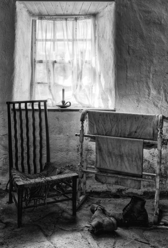Chair By The Window by Cheryl Connor