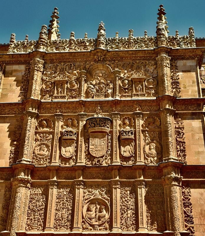 Church detail Salamanca by Michael Martin Highly Commended Section B