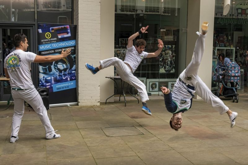 Digbeth Dancers by Malcolm Kitto Highly Commended Section A