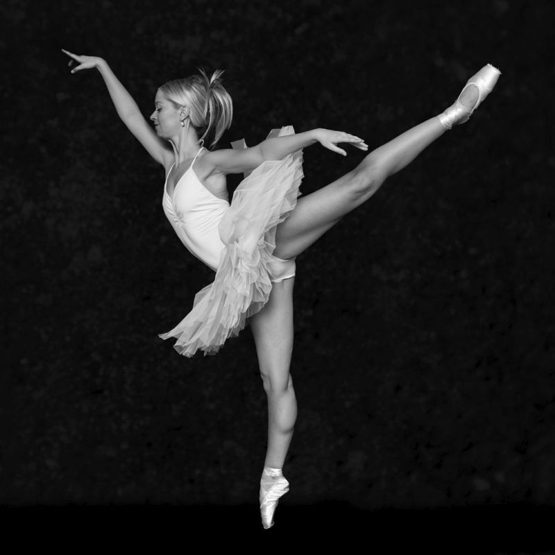 En Pointe by Val Brierley Highly Commended Section A
