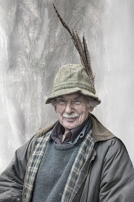Gent with a Feather in His Hat by Penny Piddock Highly Commended Section A