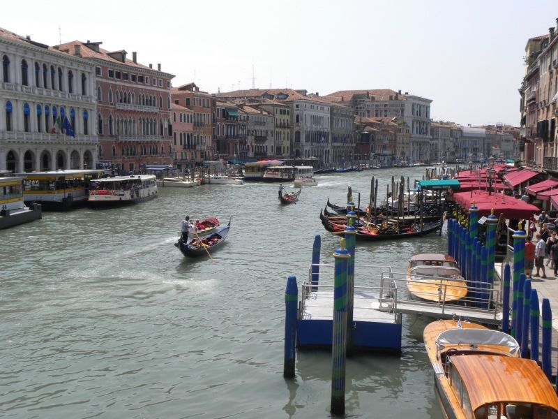 Grand Canal, Venice by Chris Parvin Highly Commended Section B