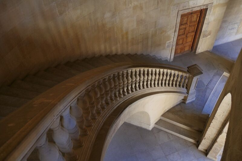 Grand Staircase Granada by Anthony Page Highly Commended Section A