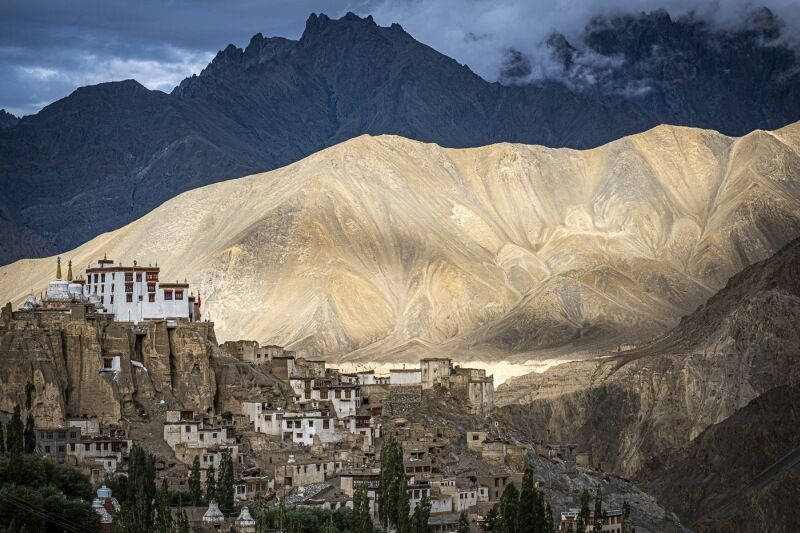 Lamayuru Mountains Ladakh by Jane Tearle Highly Commended Section A