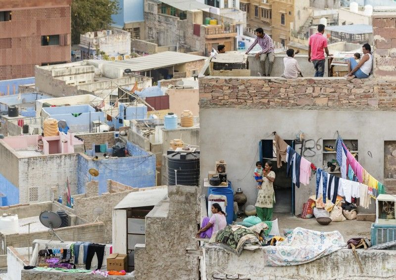 Life on the Rooftops by Peter Yendell Highly Commended Section B