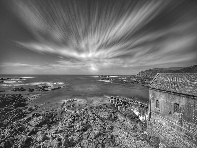 Lizard Point Old Lifeboat House by Garry Prescott Highly Commended Section A