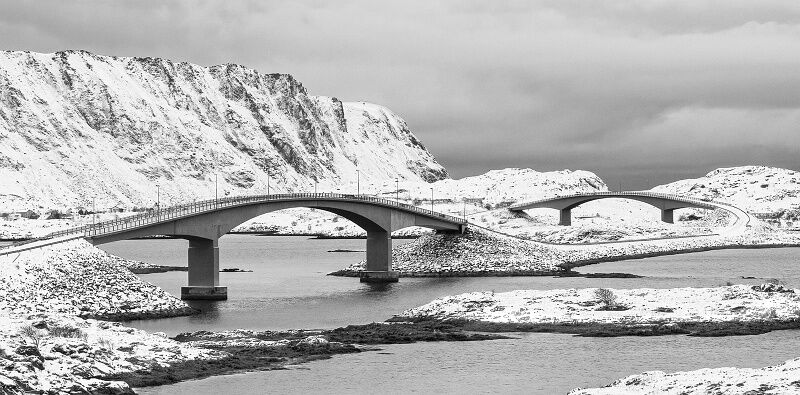 Lofoten Bridges by Stephen Lee Commended Section A