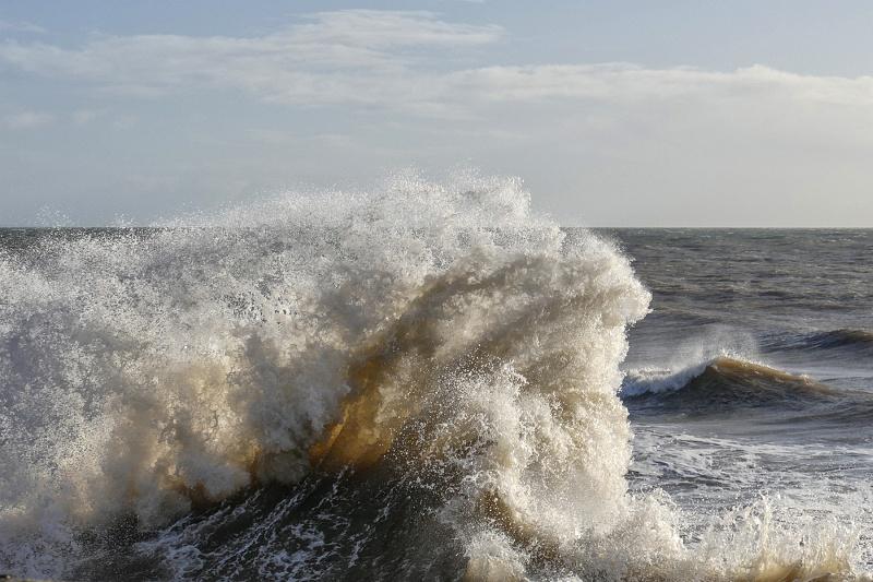 Lyme Bay Wave by Josh Walker