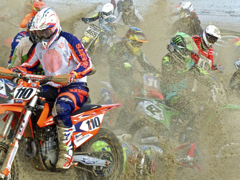 Motorcross Mayhem by Michael Martin
