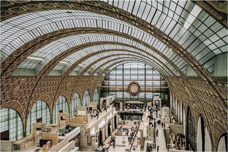 Musee D'Orsay by Penny Piddock Highly Commended Section A
