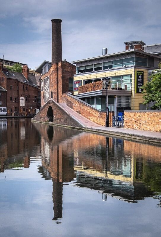 Old Foundry on the Canal Basin by Graham Lawrence Commended Section A