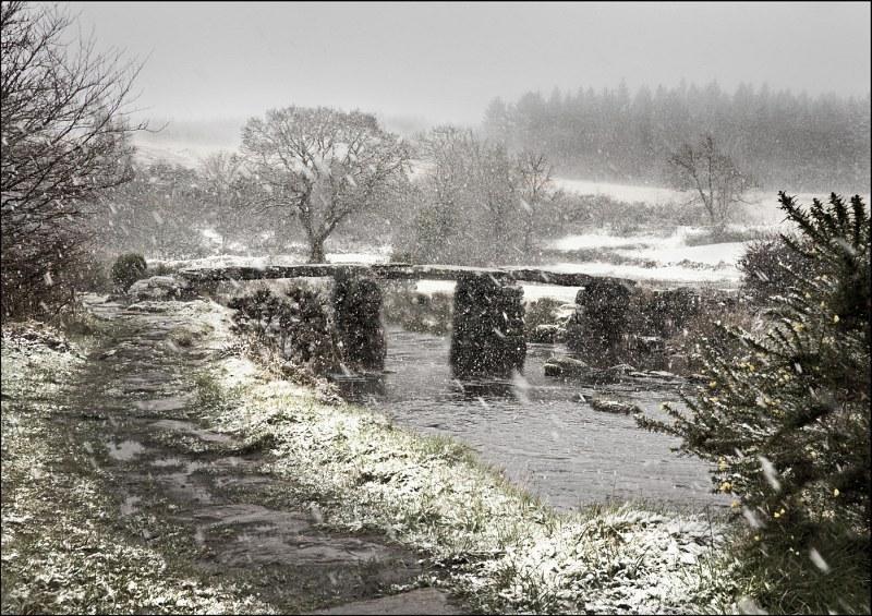 Postbridge Blizzard by John Tilsley