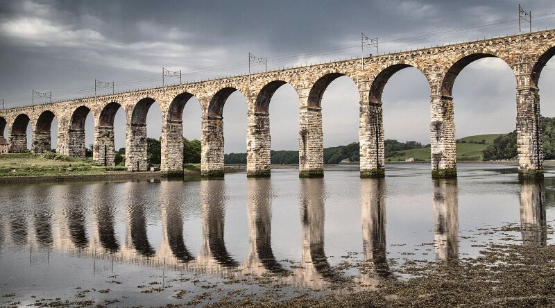 Rail Bridge over the Tweed by Graham Lawrence Highly Commended Section A