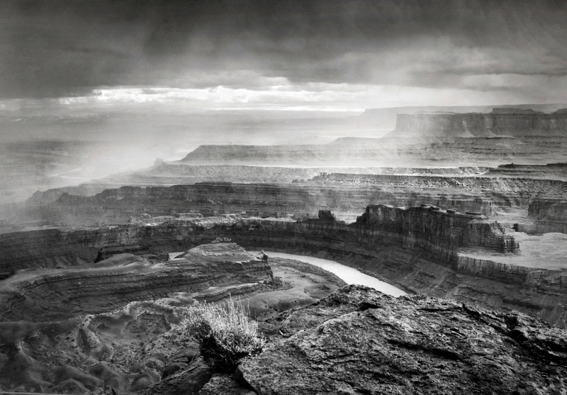 Rain Approaching Dead Horse Point by Carol Tritton, Highly Commended Section B