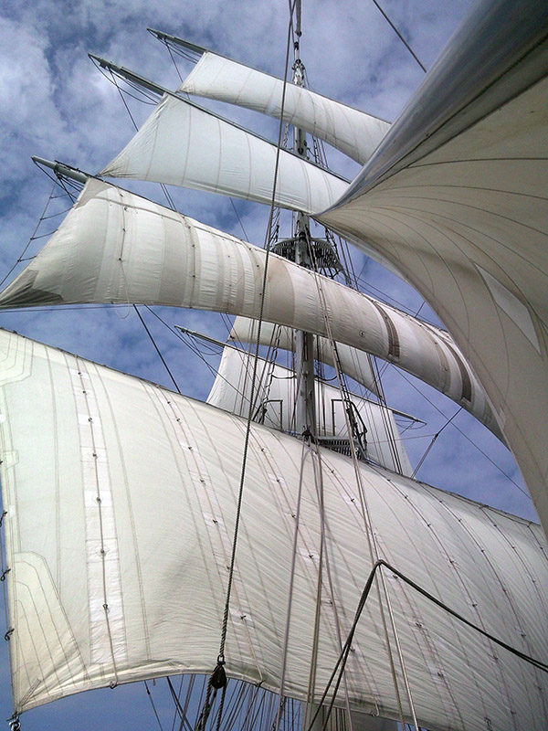 Tall Ship's Sails: Steve Broadhurst