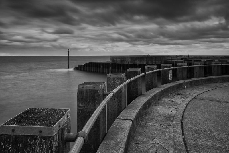 Sea Defences by Alison Webber