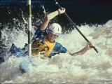 Slalom Race by Geoff Wareham