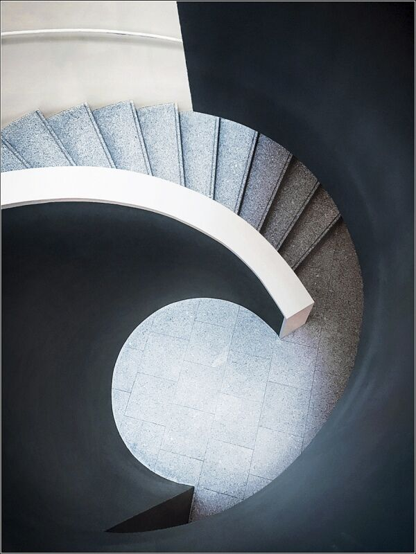 Staircase Swirl by Carol Tritton Highly Commended Section A