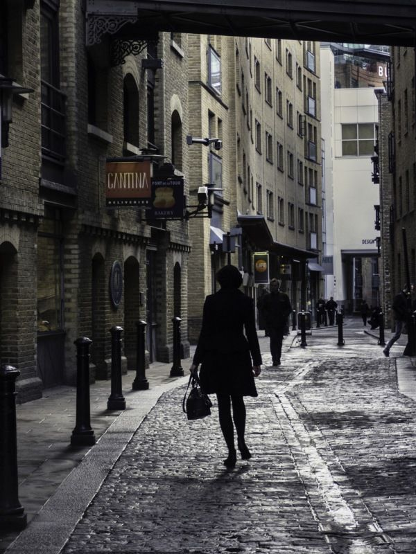 Streets of London by Helen Gibson