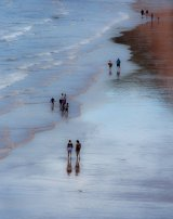 Stroll Along the Tideline by Di Tilsley