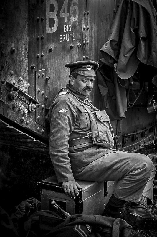 Tank War Veteran by Ivor Toms