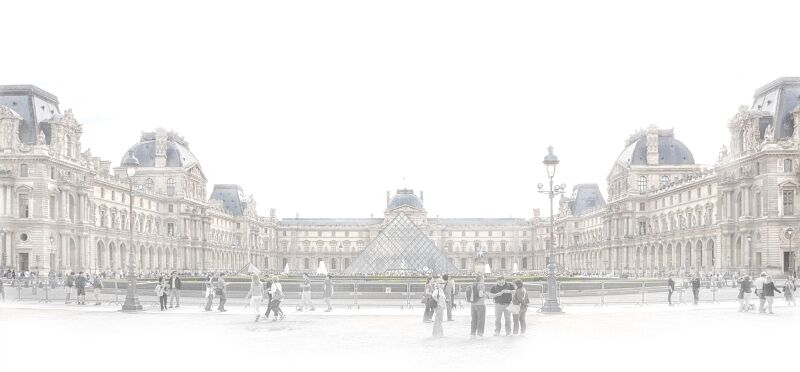 The Louvre by Frances Underwood Commended Section A