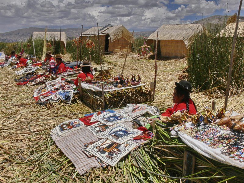 The Uros People, Lake Titicaca. by Iain Cameron Highly Commended Section A