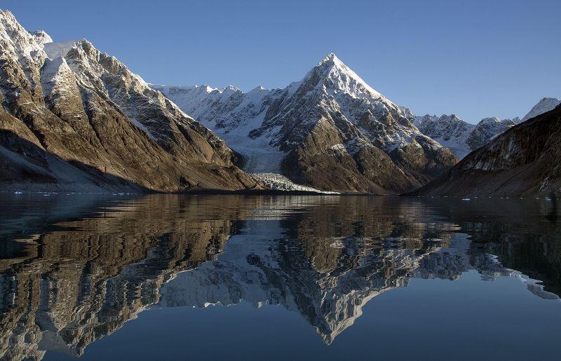 Viking Glacier NE Greenland by Jane Lee