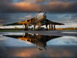 Vulcan Reflection by Val Duncan