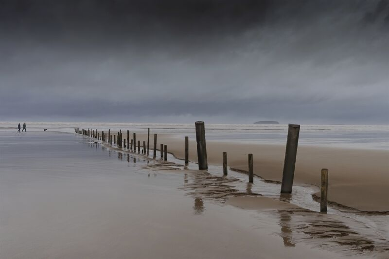 Walk before the storm by Tim Downton Highly Commended Section A
