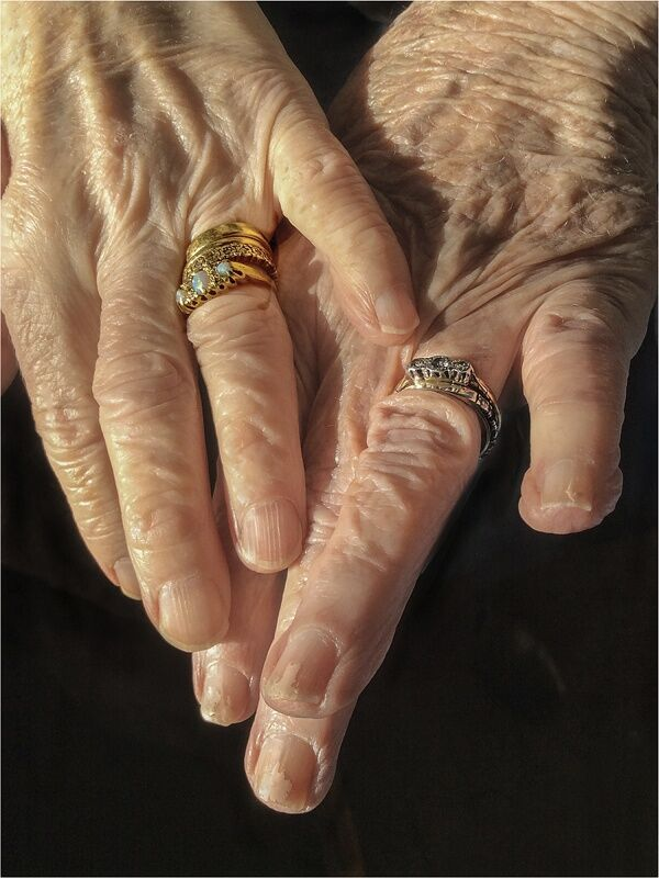 Widows Comparing Rings by  Penny Piddock Commended